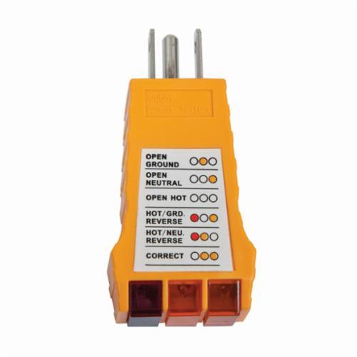 Amprobe® BT-120 Circuit Breaker Tracer, 90 to 120 VAC/50 to 60 Hz Measuring, 9 VDC Alkaline Battery