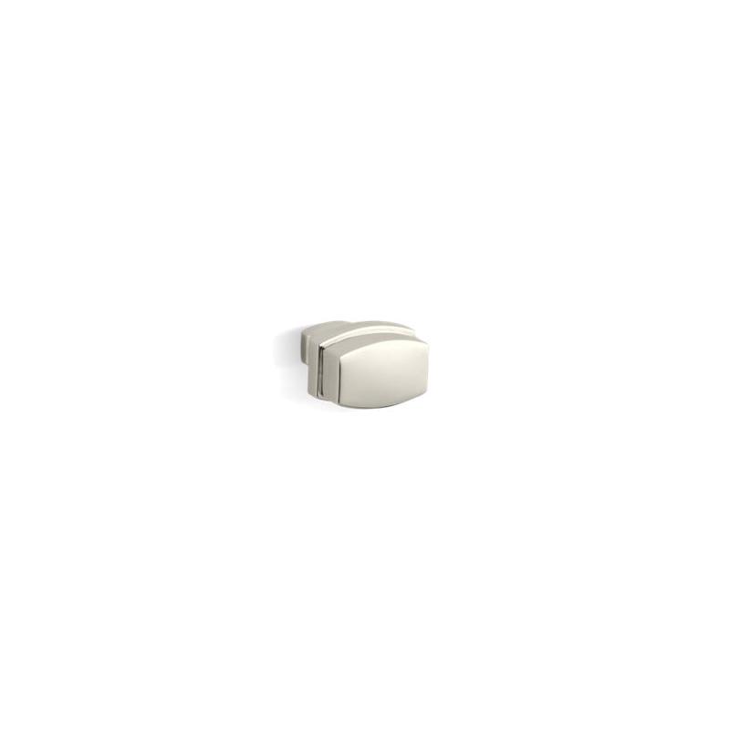 Kohler® 11425-SN Drawer/Cabinet Knob, Bancroft®, Metal, Vibrant® Polished Nickel