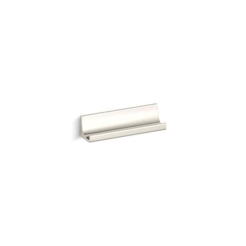 Kohler® 11576-SN Drawer Pull, Loure®, Metal, Vibrant® Polished Nickel