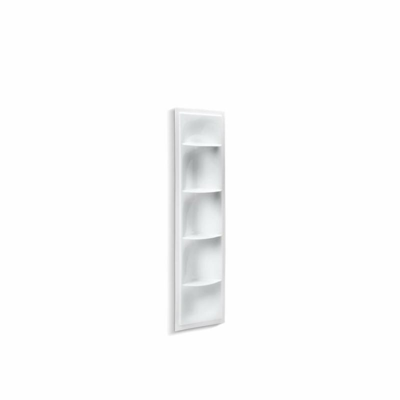 Kohler® 1842-0 Storage Shower Locker, Echelon®, 17-3/8 in OAW x 5-1/8 in OAD x 61-7/8 in OAH, Acrylic