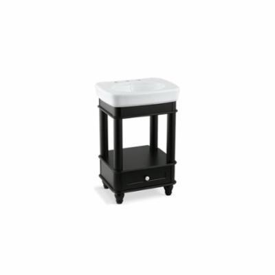 Kohler® 2461-F2 Petite Bathroom Vanity Cabinet, Bancroft®, 31-3/4 in OAH x 22-1/8 in OAW x 19-3/4 in OAD, Freestanding Mount, Black Forest Cabinet