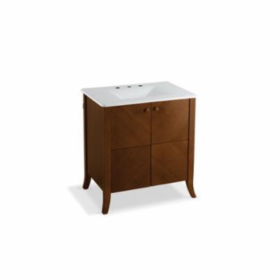 Kohler® 2483-F39 Bathroom Vanity Cabinet, Clermont®, 33-1/2 in OAH x 32 in OAW x 21-1/2 in OAD, Freestanding Mount, Oxford Cabinet