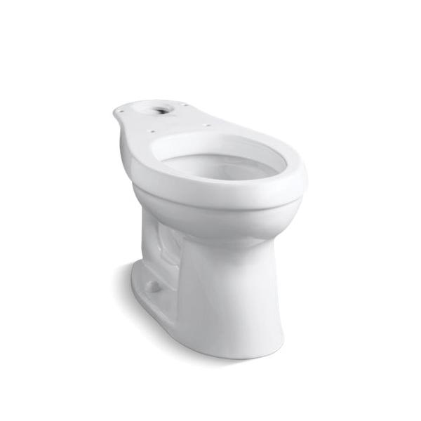 Kohler® 4309-0 Toilet Bowl, White, Elongated, 12 in Rough-In, Cimarron®