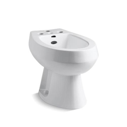 Kohler® 4854-0 San Tropez® Vertical Spray Bidet, 15-1/2 in H Rim, 14-5/8 in Rough-In, White