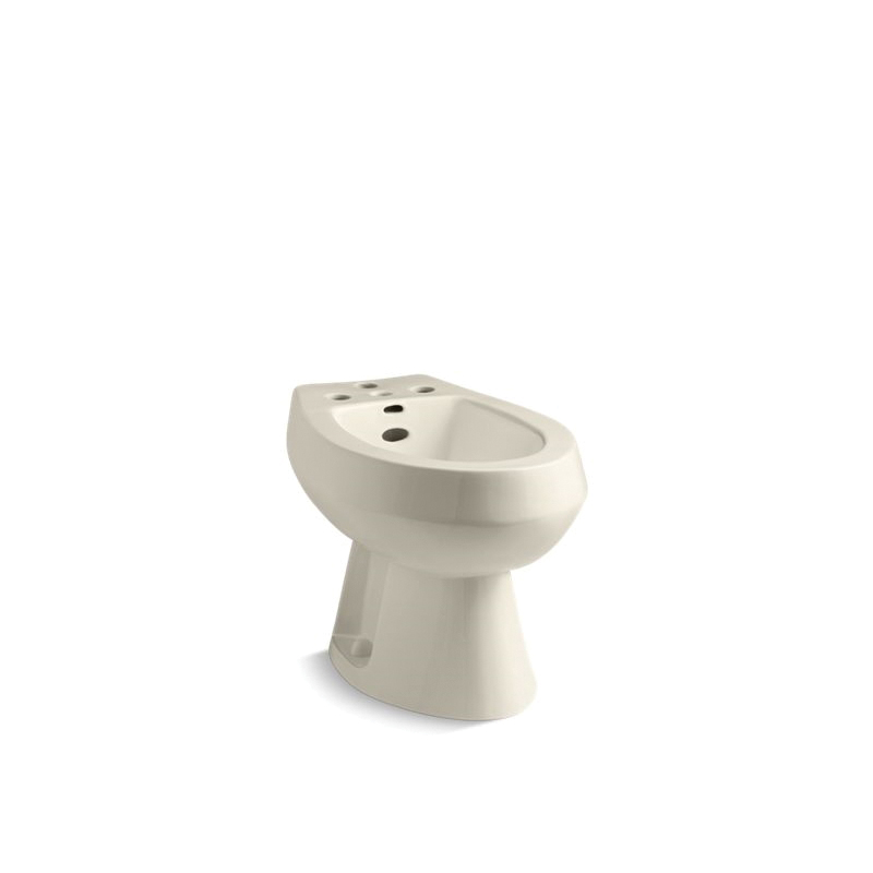 Kohler® 4854-47 San Tropez® Vertical Spray Bidet, 14-5/8 in Rough-In, Almond