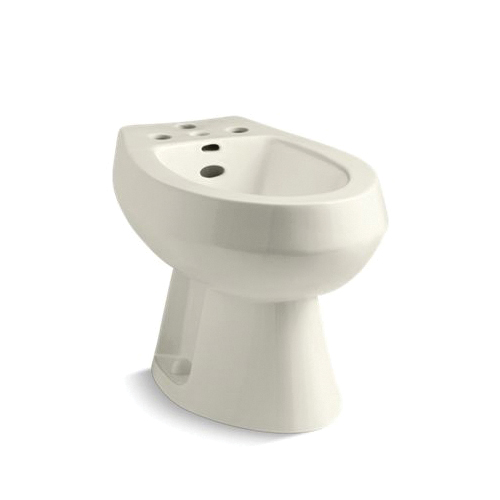 Kohler® 4854-96 San Tropez® Vertical Spray Bidet, 14-5/8 in Rough-In, Biscuit