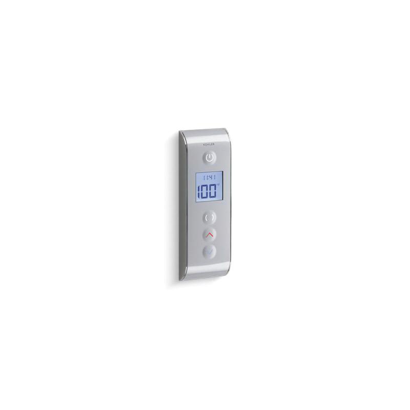 Kohler® 527-1CP DTV™ Prompt® Digital Shower Interface, LCD Display