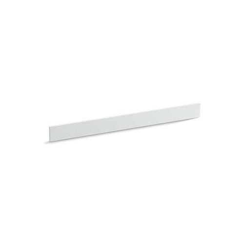 Kohler® 5446-S33 Bathroom Vanity Top Back Splash, Solid/Expressions™, 37 in L x 3-1/2 in W x 1/2 in THK, Stone Composite, White