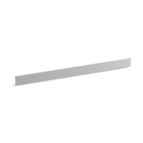 Kohler® 5447-S36 Bathroom Vanity Top Back Splash, Solid/Expressions™, 49 in L x 3-1/2 in W x 1/2 in THK, Stone Composite, Ice Gray™