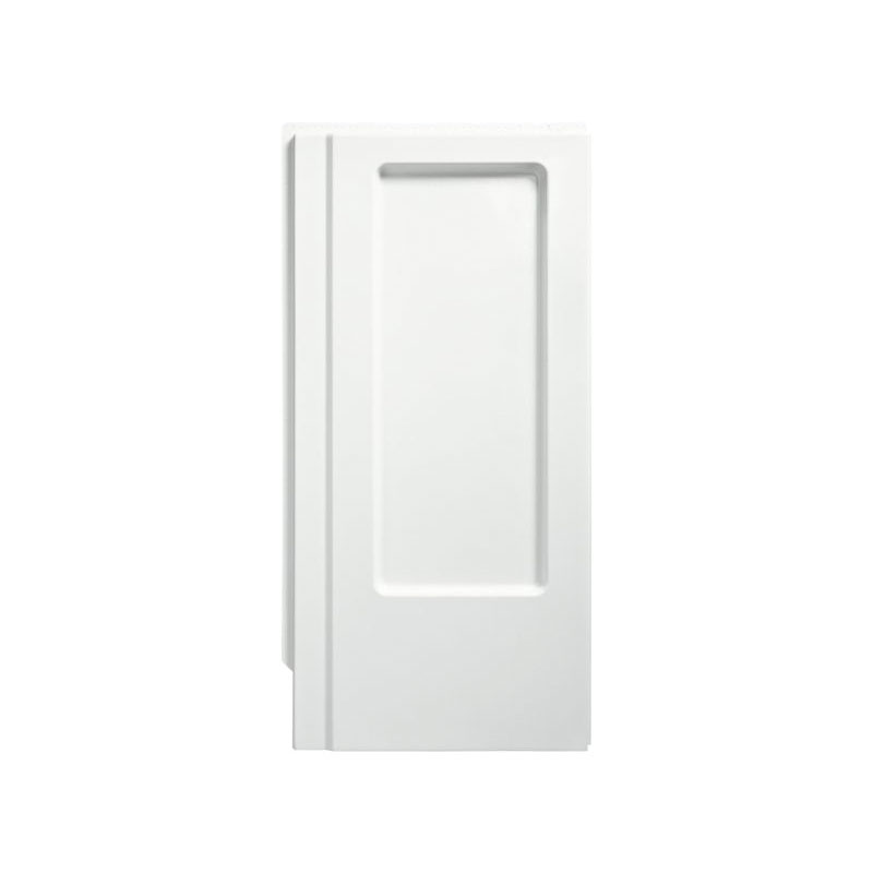 Sterling® 62015100-0 Shower End Wall, Advantage™, 34 in L x 66-1/4 in W, Solid Vikrell®