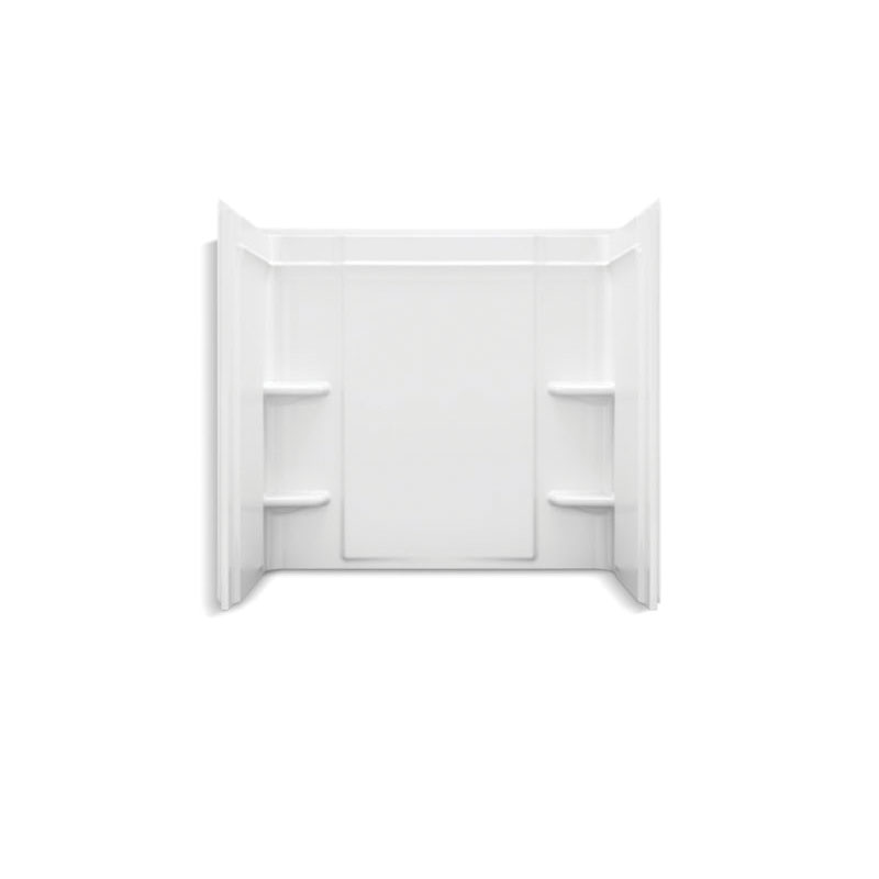 Sterling® 71374100-0 Wall Set, Ensemble™, 60 in L x 30 in W x 73 in H, Solid Vikrell®