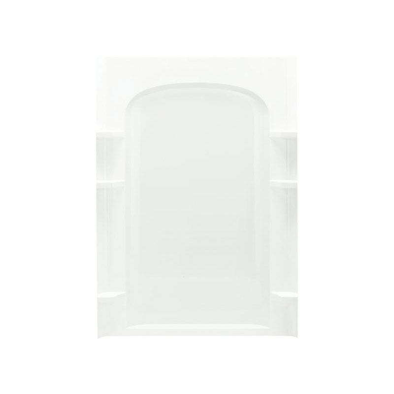 Sterling® 72222100-0 Shower Back Wall, Ensemble™, 48 in L x 72-1/2 in W, Solid Vikrell®
