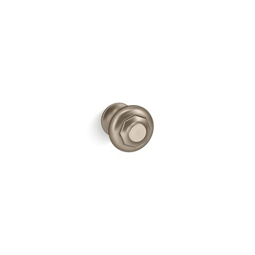 Kohler® 72578-BV Cabinet Knob, Artifacts®, For Use With Bathroom Cabinet and Drawer, Metal, Vibrant® Brushed Bronze