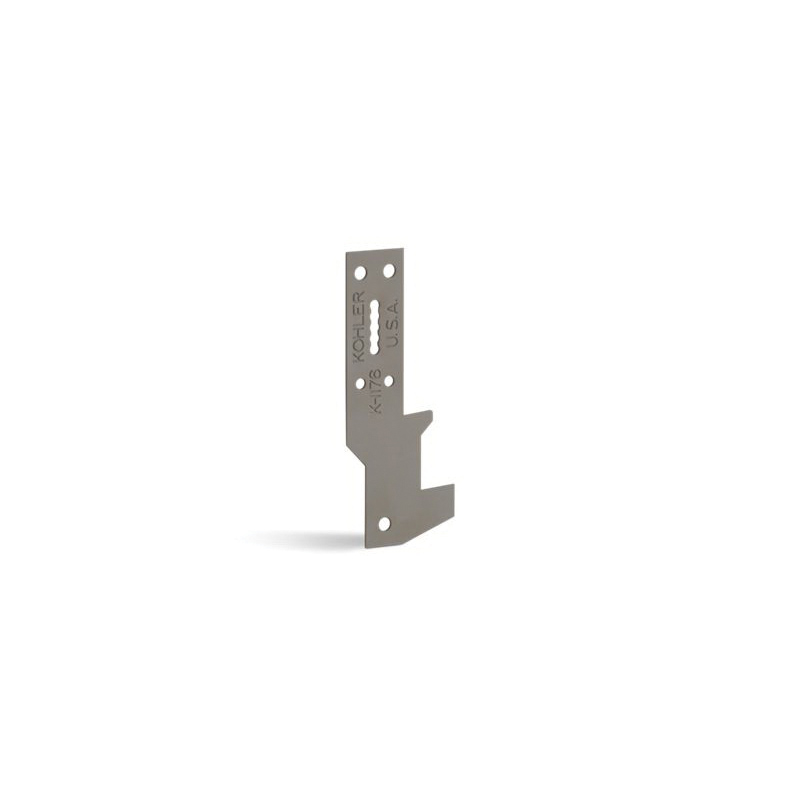 Kohler® 1176-NA Bath Hanger, Ancora™, For Use With Alcove and Corner Mount Cast-Iron Bath, Steel