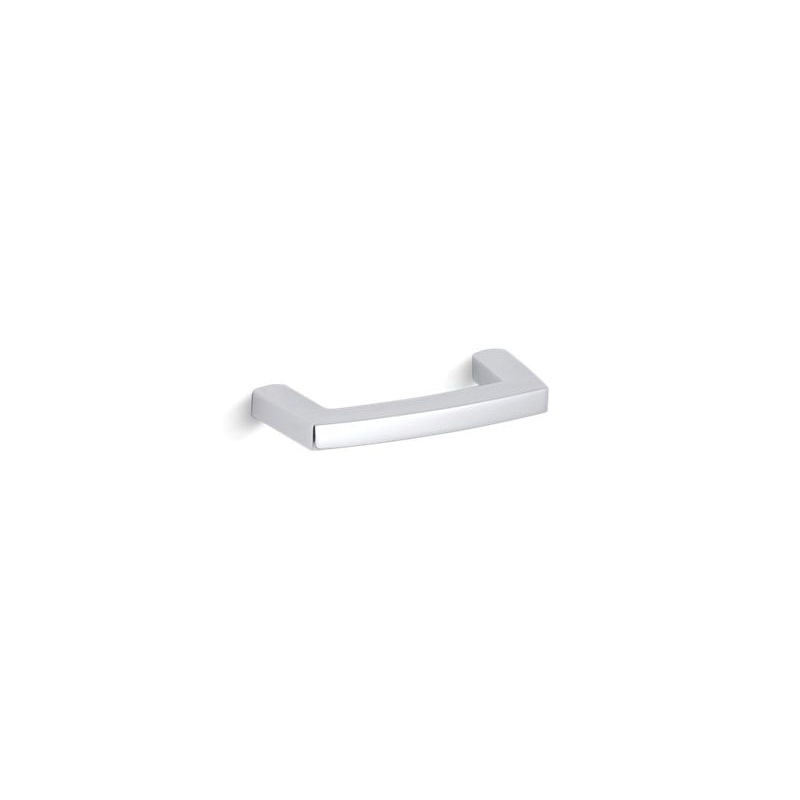 Kohler® 16263-CP Pull Cabinet Hardware, Margaux®, For Use With Bathroom Cabinet and Drawer, Metal, Polished Chrome