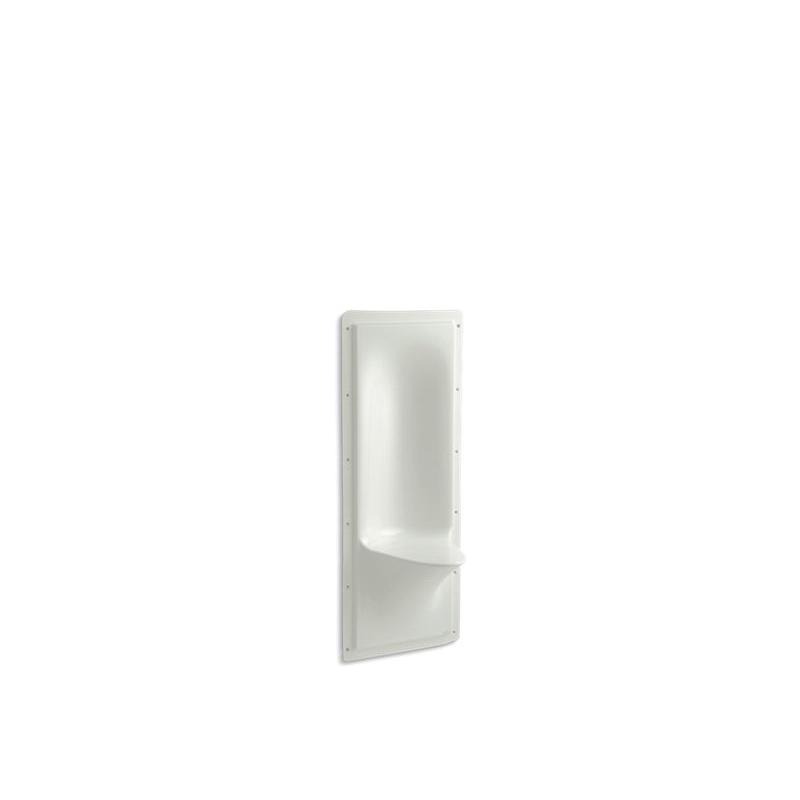Kohler® 1843-NY Shower Seat, Echelon®, Wall Mount, Acrylic