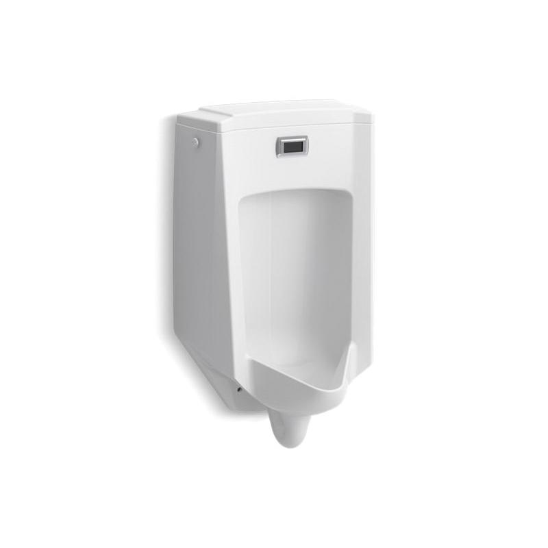 Kohler® 2590-0 Touchless Washdown Urinal, Bardon™, 0.5 gpf, Rear Spud, Wall Mount, White