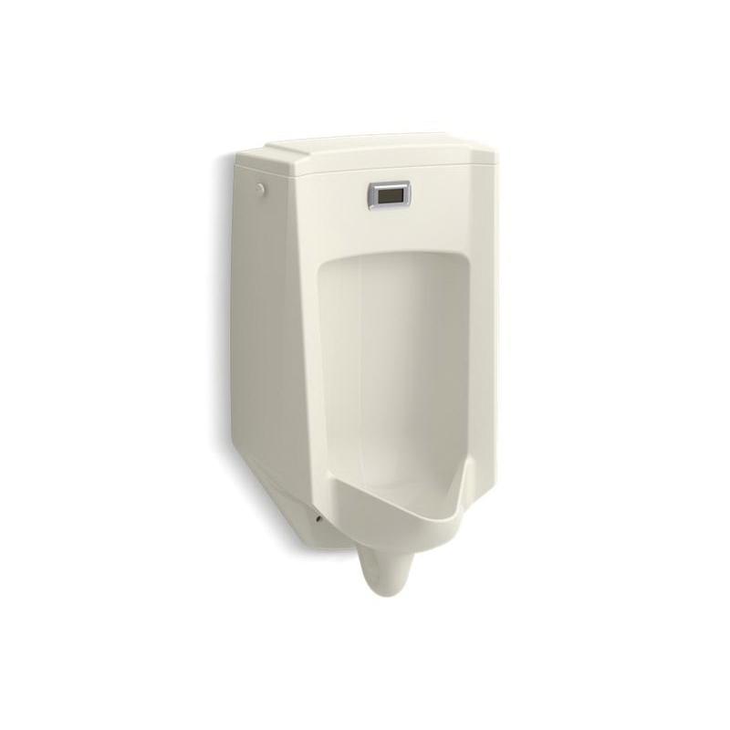 Kohler® 2590-96 Touchless Washdown Urinal, Bardon™, 0.5 gpf, Rear Spud, Wall Mount, Biscuit