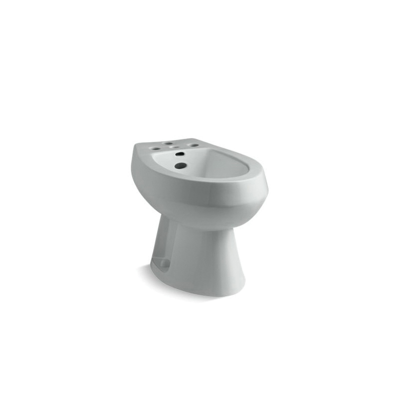 Kohler® 4854-95 San Tropez® Bidet Toilet, Elongated Bowl, 15-1/2 in H Rim, 14.63 in Rough-In, Ice Gray™