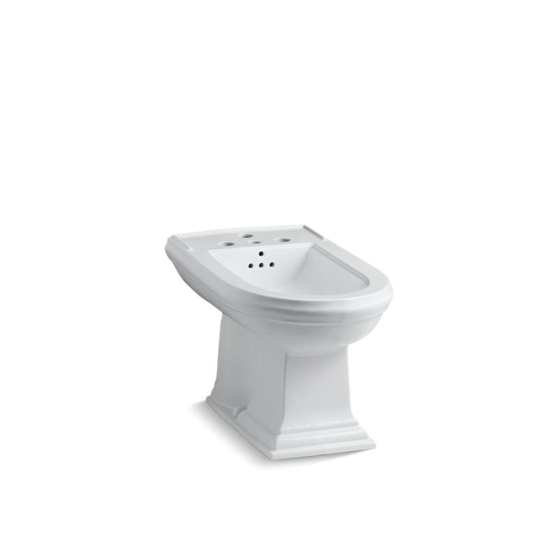 Kohler® 4886-0 Memoirs® Bidet Toilet, Elongated Bowl, 15 in H Rim, 15 in Rough-In, White