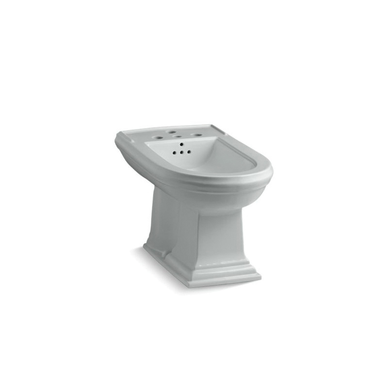 Kohler® 4886-95 Memoirs® Bidet Toilet, Elongated Bowl, 15 in H Rim, 15 in Rough-In, Ice Gray™