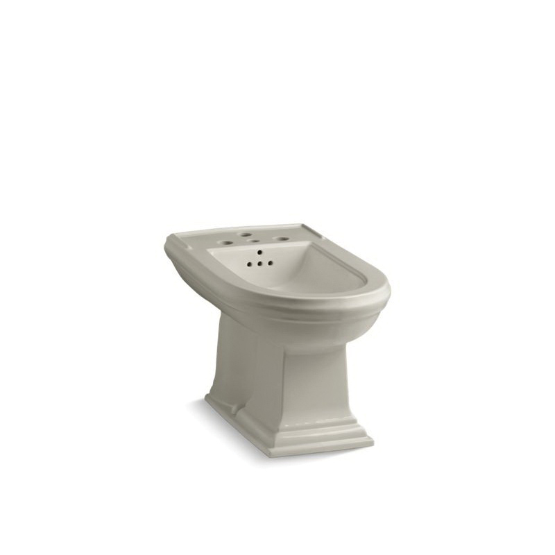 Kohler® 4886-G9 Memoirs® Bidet Toilet, Elongated Bowl, 15 in H Rim, 15 in Rough-In, Sandbar