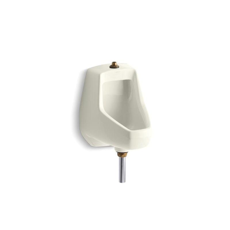 Kohler® 5024-T-96 Washdown Urinal, Darfield™, 0.5/1 gpf, Top Spud, Wall Mount, Biscuit