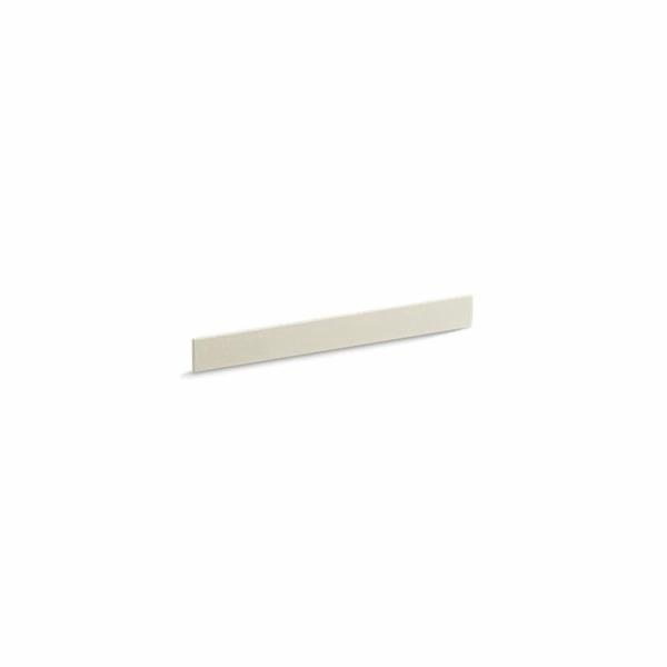 Kohler® 5445-S34 Bathroom Vanity Top Back Splash, Solid/Expressions™, 31 in L x 3-1/2 in W x 1/2 in THK, Stone Composite, Almond