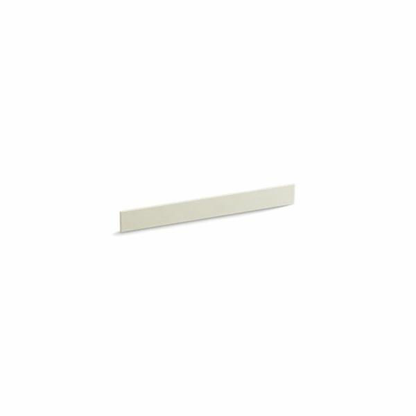 Kohler® 5445-S35 Bathroom Vanity Top Back Splash, Solid/Expressions™, 31 in L x 3-1/2 in W x 1/2 in THK, Stone Composite, Biscuit