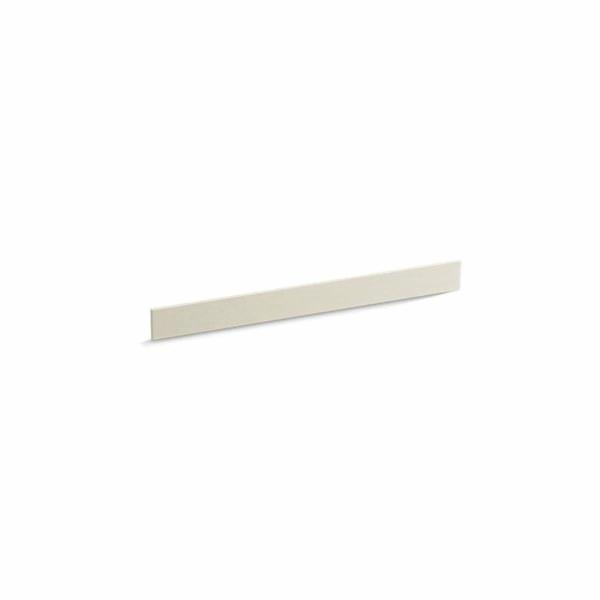 Kohler® 5446-S34 Bathroom Vanity Top Back Splash, Solid/Expressions™, 37 in L x 3-1/2 in W x 1/2 in THK, Stone Composite, Almond