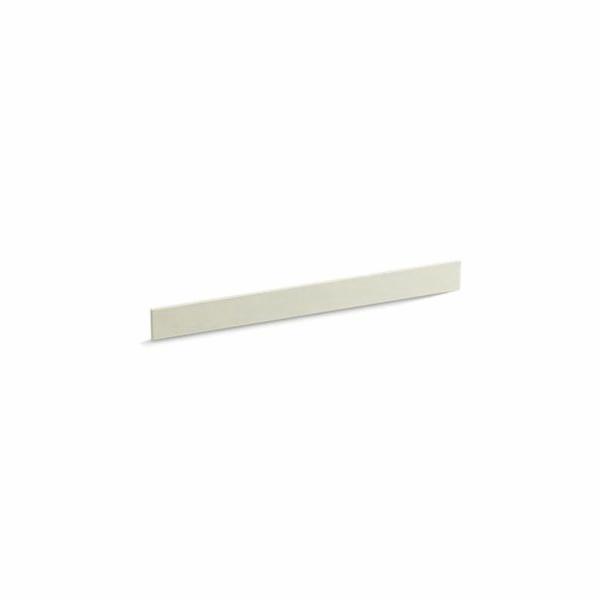 Kohler® 5446-S35 Bathroom Vanity Top Back Splash, Solid/Expressions™, 37 in L x 3-1/2 in W x 1/2 in THK, Stone Composite, Biscuit
