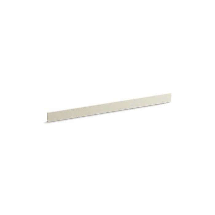 Kohler® 5447-S34 Bathroom Vanity Top Back Splash, Solid/Expressions™, 49 in L x 3-1/2 in W x 1/2 in THK, Stone Composite, Almond