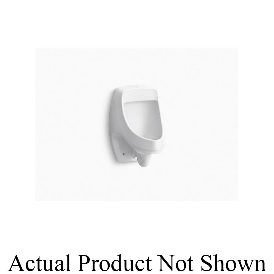 Kohler® 5452-ER-47 Washdown Urinal, Dexter™, 0.125 gpf, Rear Spud, Wall Mount, Almond