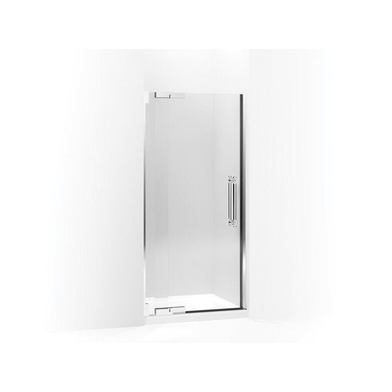 Kohler® 705748-L-NA Glass Panel and Sidelite, 32-3/4 in W x 72-1/4 in H, 3/8 in THK