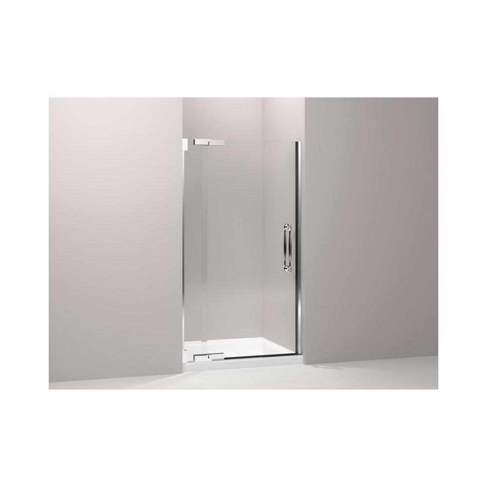 Kohler® 705751-L-NA Glass Panel and Sidelite, Pinstripe®, 34 in W x 71-3/8 in H, 3/8 in THK