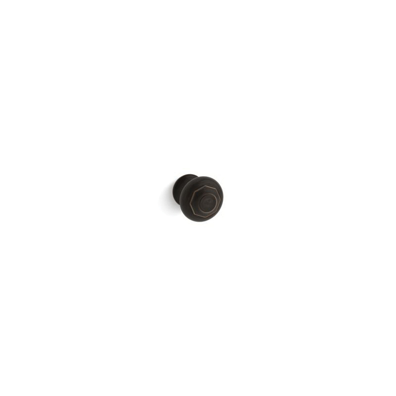 Kohler® 72578-2BZ Cabinet Knob, Artifacts®, For Use With Bathroom Cabinet and Drawer, Metal, Oil Rubbed Bronze