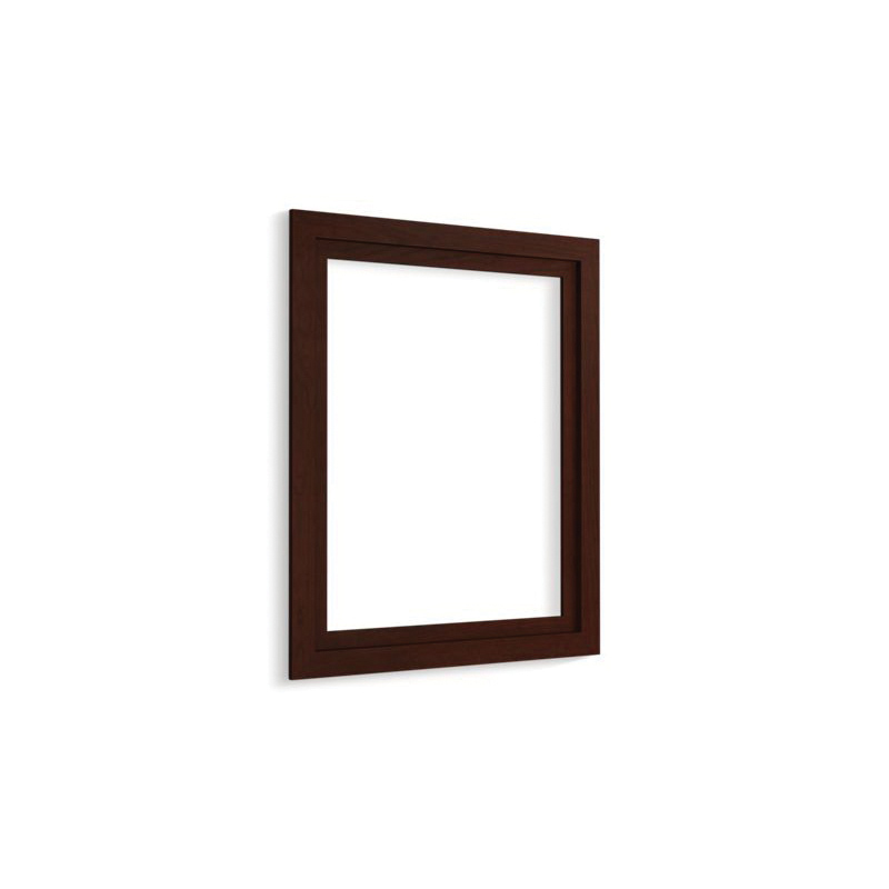Kohler® 99661-24-1WG Medicine Cabinet Surround, Jacquard™, For Use With Verdera® K-99006-NA and K-99007-NA Medicine Cabinets, Solid Wood/Veneer, Cherry Tweed