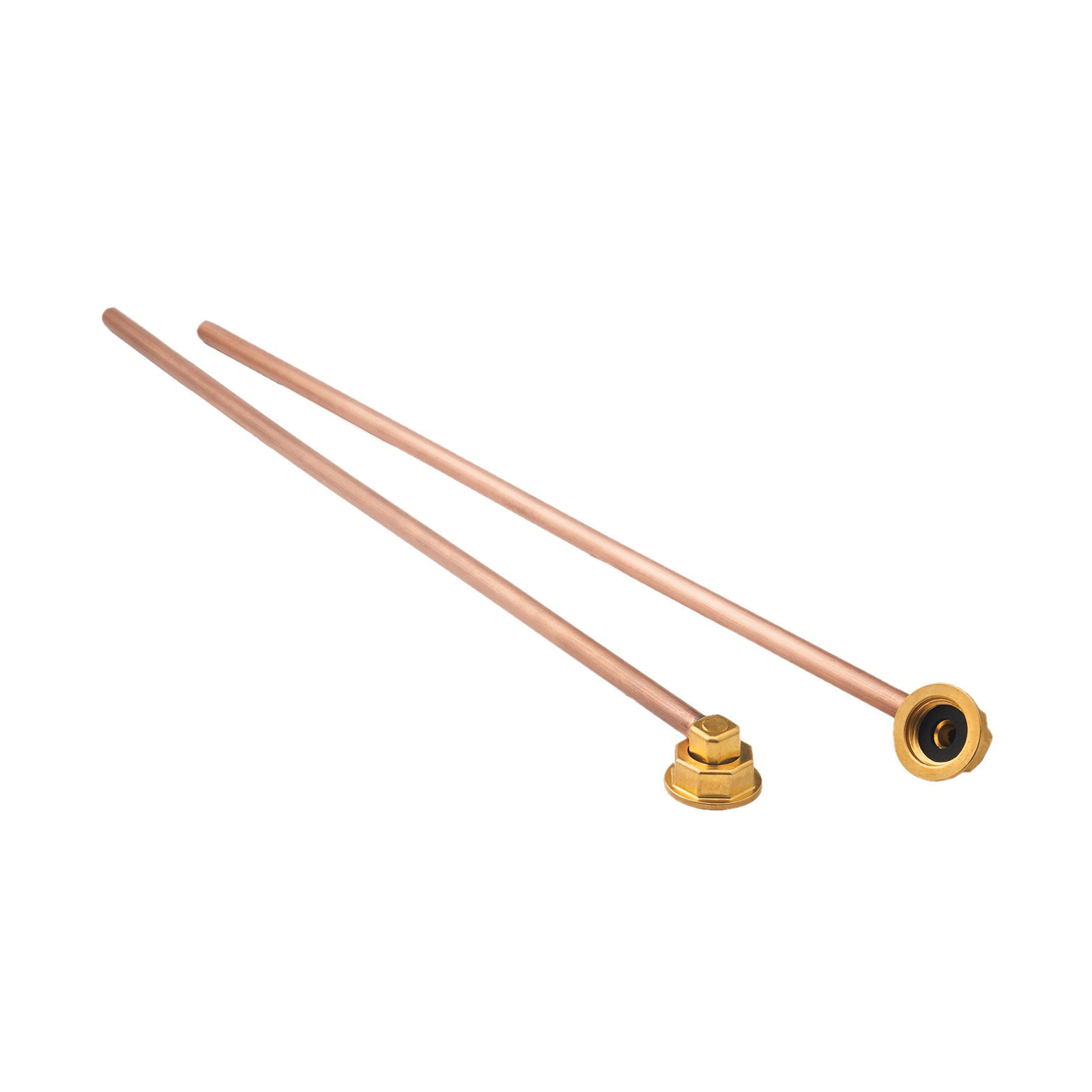 Krowne® 21-440L Straight Water Line Kit, For Use With Wall Mount Faucet, Copper
