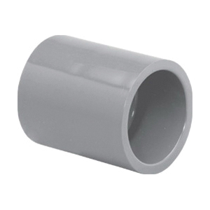 Lasco® 9829-015 Coupling, 1-1/2 in Nominal, Slip End Style, SCH 80/XH, CPVC, FKM O-Ring Seal, Domestic