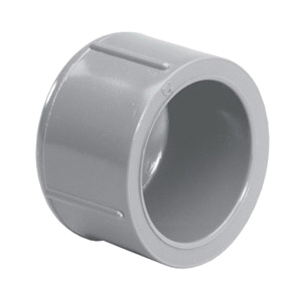 Lasco® 9847-030 Cap, 3 in, Slip, SCH 80/XH, CPVC, FKM O-Ring Seal, Domestic
