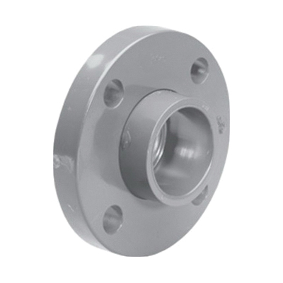 Lasco® 9854-015 Loose Ring Flange, 1-1/2 in Nominal, CPVC, Slip Connection, 150 lb, Domestic