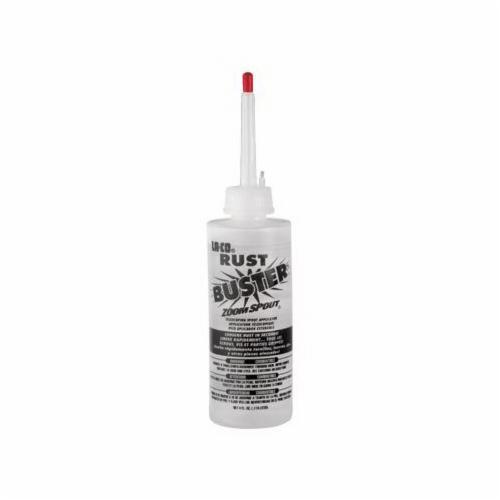 LA-CO® 079706 RUST BUSTER® Rust Penetrant With Tele Spout, 4 oz Bottle, Liquid, Clear Glass, 0.8