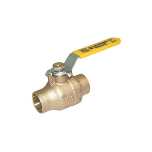 LEGEND 101-087NL S-1002NL Ball Valve With Handle, 1-1/2 in Nominal, C End Style, Forged Brass Body, Full Port, Import
