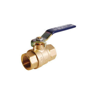 LEGEND 101-414NL T-2000NL Ball Valve, 3/4 in Nominal, FNPT End Style, Forged Brass Body, Full Port, PTFE/EPDM Rubber Softgoods, Import