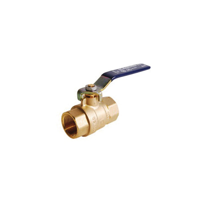 LEGEND 101-413NL T-2000NL Ball Valve, 1/2 in Nominal, FNPT End Style, Forged Brass Body, Full Port, PTFE/EPDM Rubber Softgoods, Import