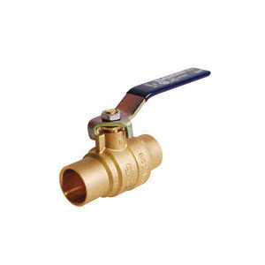 LEGEND 101-424NL S-2000NL Ball Valve, 3/4 in Nominal, C End Style, Forged Brass Body, Full Port, PTFE/EPDM Rubber Softgoods, Import