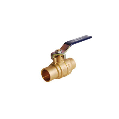 LEGEND 101-427NL S-2000NL Ball Valve, 1-1/2 in Nominal, C End Style, Forged Brass Body, Full Port, PTFE/EPDM Rubber Softgoods, Import