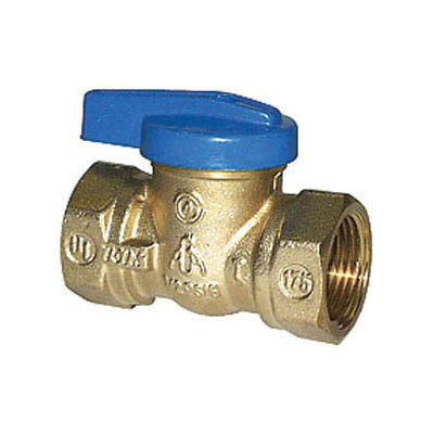 LEGEND Blue Top™ 102-103 T-3000 1-Piece Ball Valve With Handle, 1/2 in, FNPT, Forged Brass Body, NBR Softgoods, Import