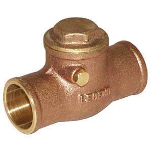 LEGEND LEGEND GREEN™ 105-204NL S-451NL Swing Check Valve, 3/4 in Nominal, C End Style, Low Lead Compliance: Yes, Cast Brass Body, Import