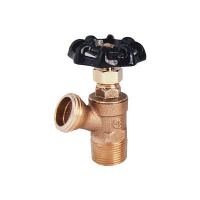 LEGEND 107-144NL T-521NL Traditional Boiler Drain, 3/4 in Nominal, MNPT End Style, 125 psi CWP Pressure, Brass Body, Import